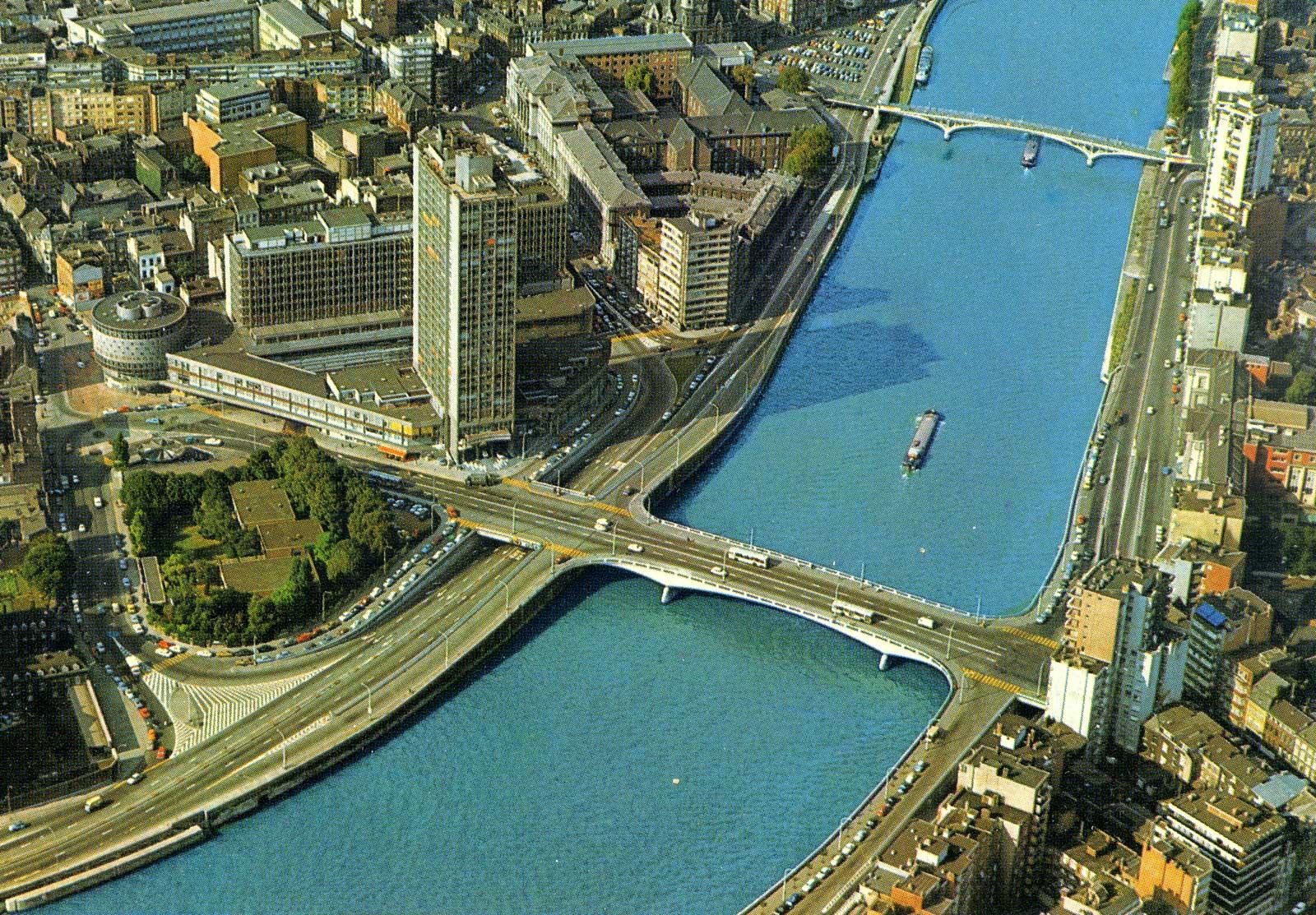 Le pont Kennedy à Liège