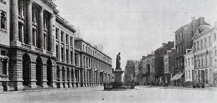La Place de l'Université avant 1914